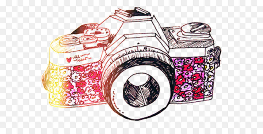 900x460 Photographic Film Camera Drawing Clip Art