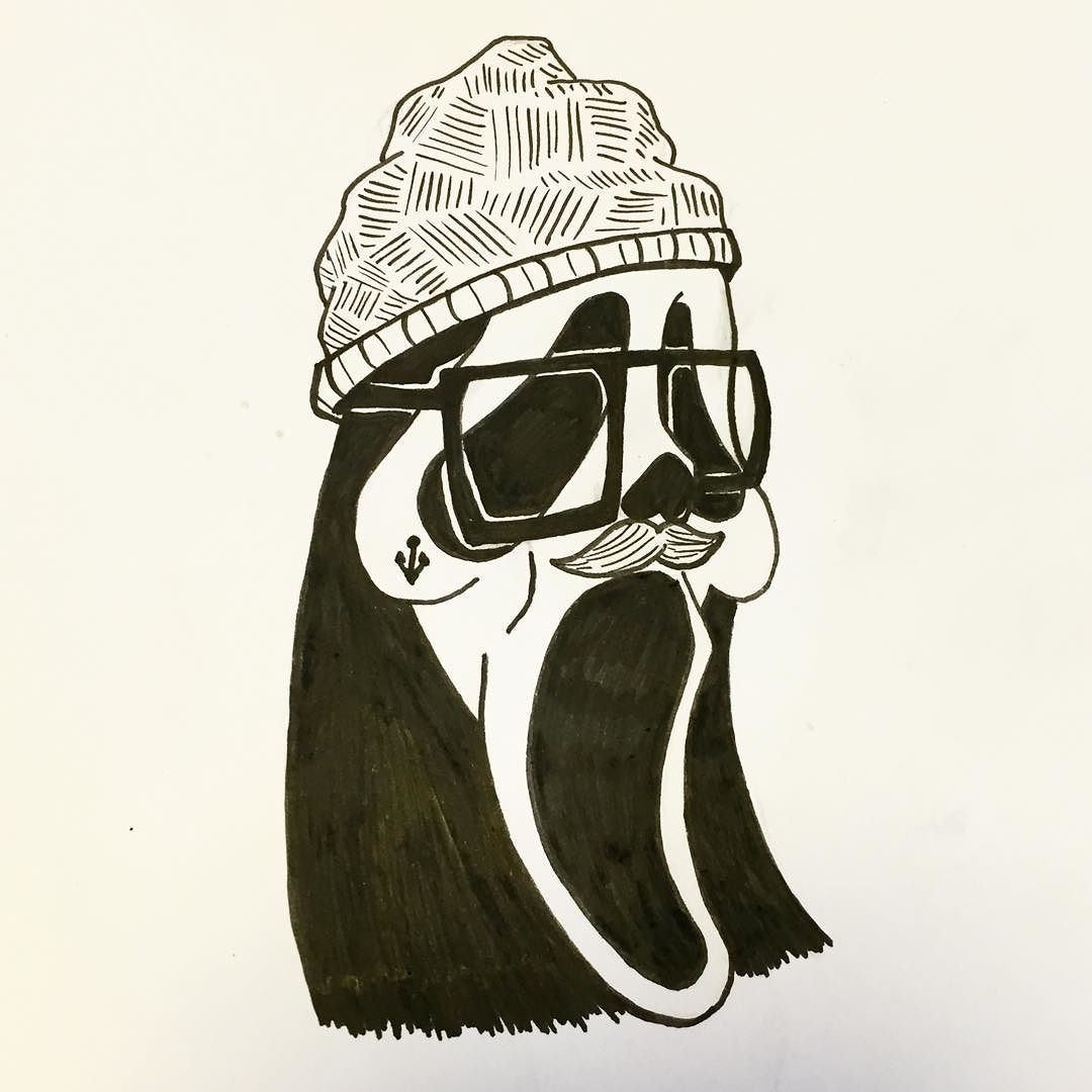 1080x1080 58. Hipster Ghostface