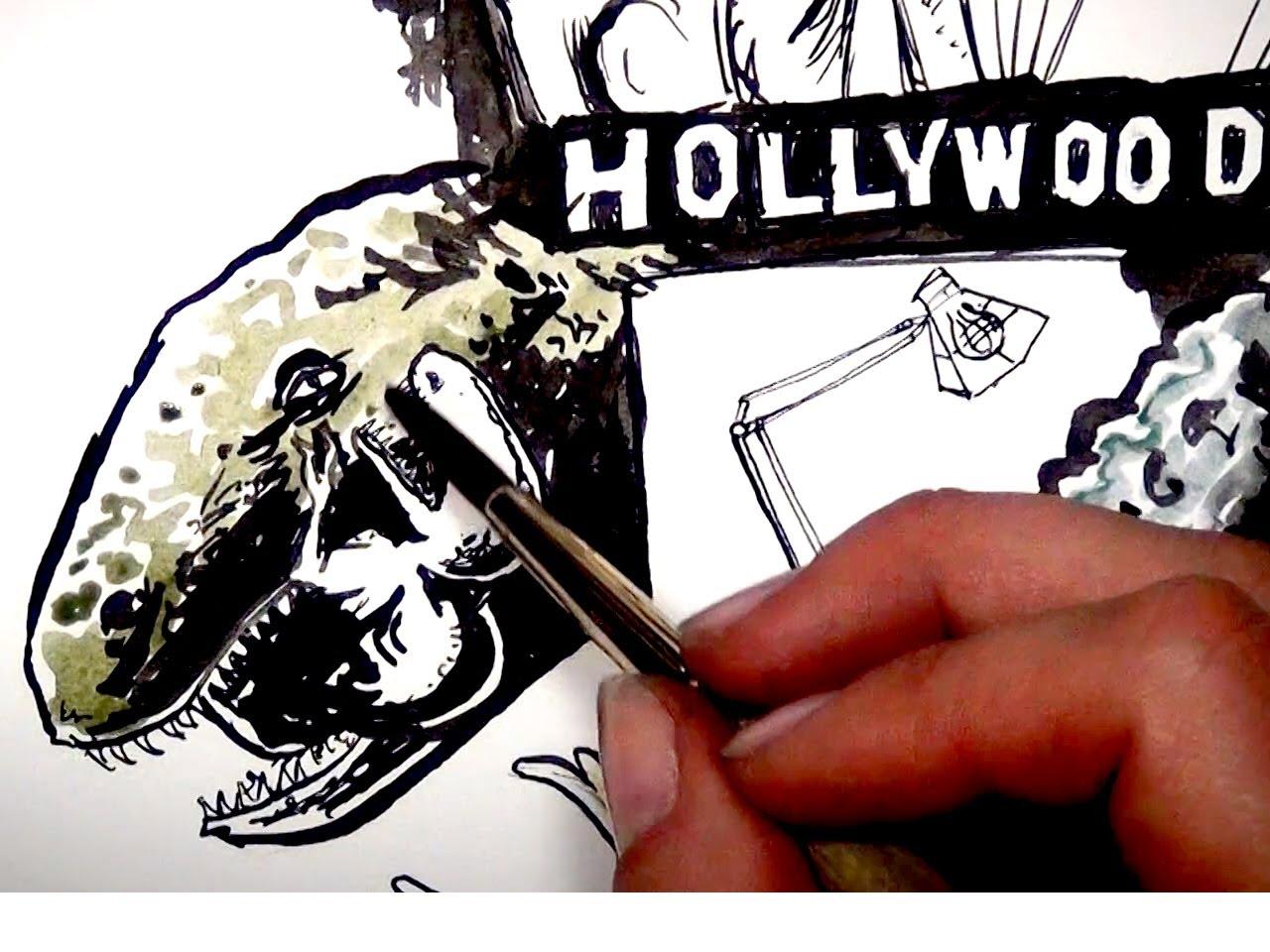 1280x960 Drawing Film History