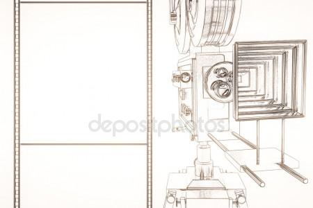 450x300 Doodle Film Strip Stock Photo Dusan964