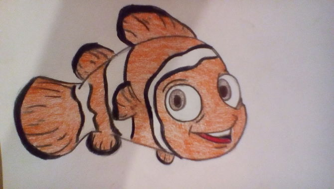 670x380 How To Draw Nemo From Finding Nemo 12 Steps (With Pictures)