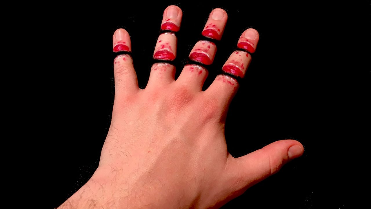 1280x720 3d Trick Art! Finger Cut Dirty Mind Trick Illusion Drawing.