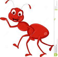 227x222 Cartoon Ant Mascot Stock Photo