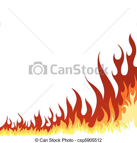 450x470 Fire Background. Inferno Fire Vector Background For Design