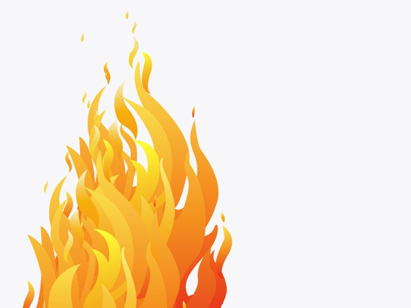 800x600 Flame Image Flames Transparent Background Fire