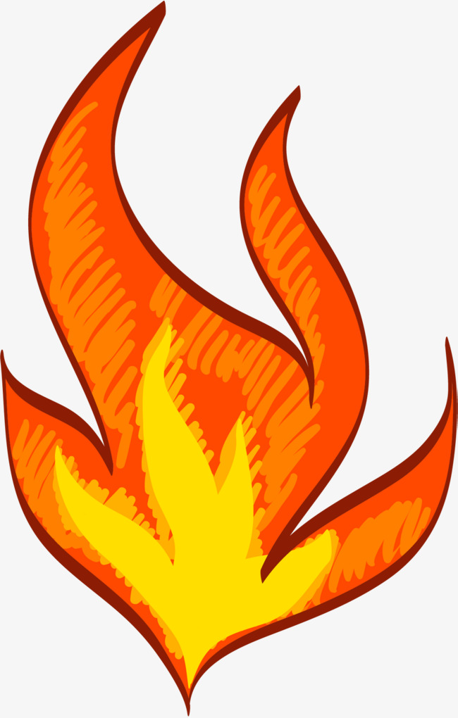 650x1020 Flames Burning, Burning Fire, Cartoon Hand Drawing, Flame Png