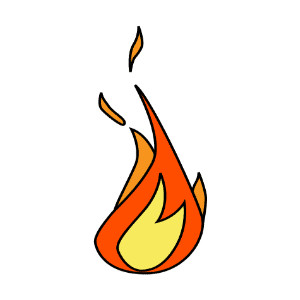 300x300 Pics Of Cartoon Fire