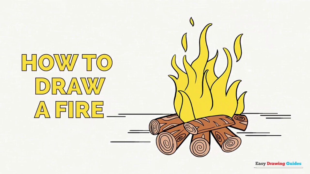 1280x720 How To Draw A Fire