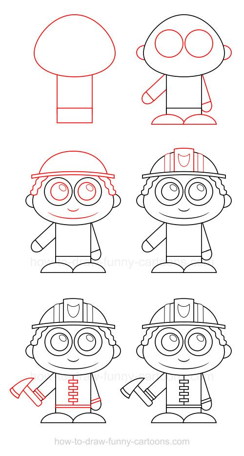 500x932 How To Draw A Firefighter Firefighter, Drawing People