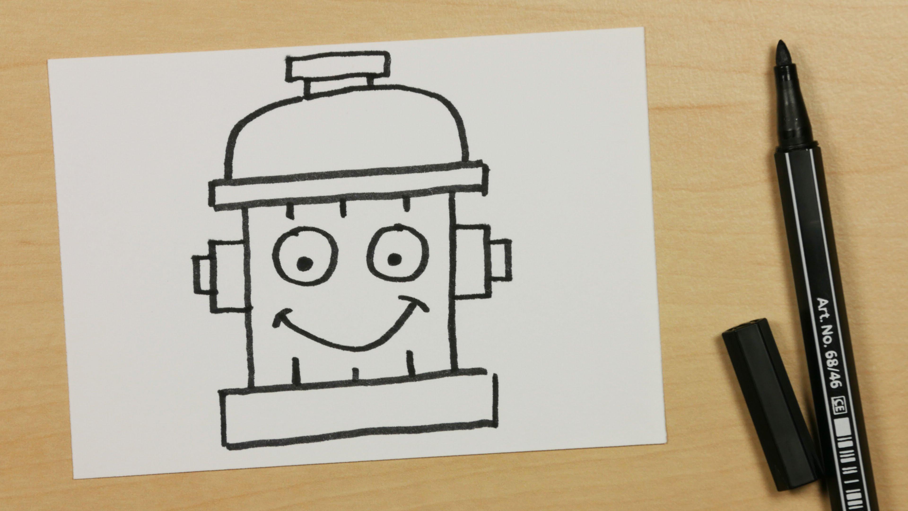 3840x2160 How To Draw A Fire Hydrant Or Fireplug