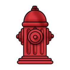 236x236 Fire Hydrant Drawing