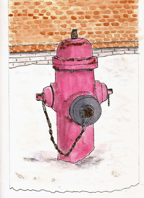 464x640 Fire Hydrant Addicts Anonymous Larry D. Marshall