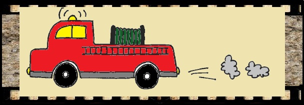 608x210 Abc To Drawing Easy Fire Truck