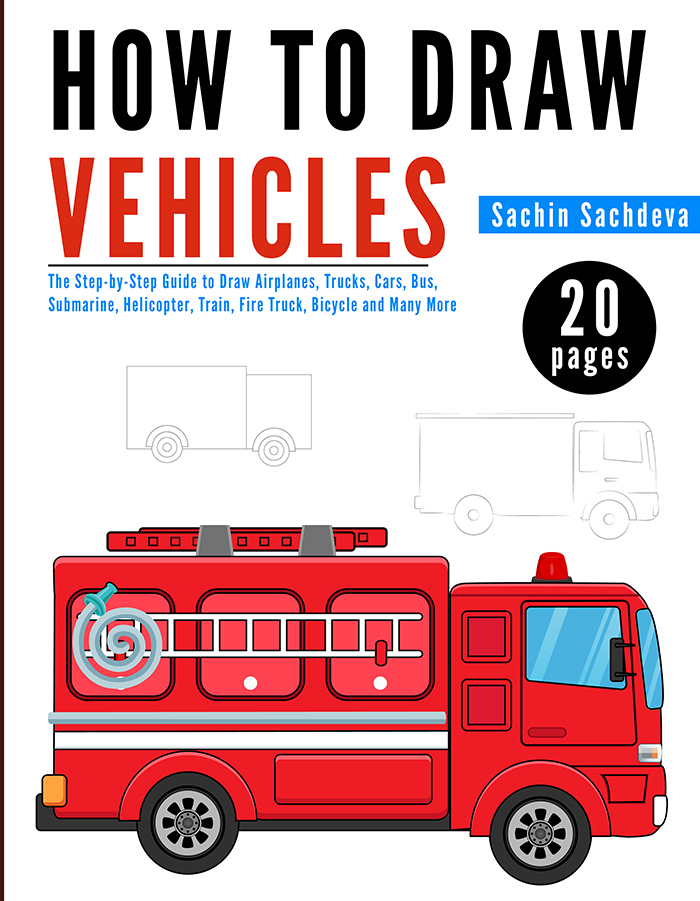 700x901 How To Draw Vehicles Is A Step By Step Guide, Easy To Use Drawing