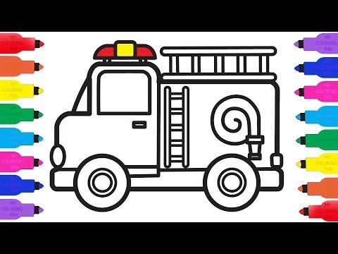 480x360 Stream How To Draw A Police Car Coloring Pages For Kids