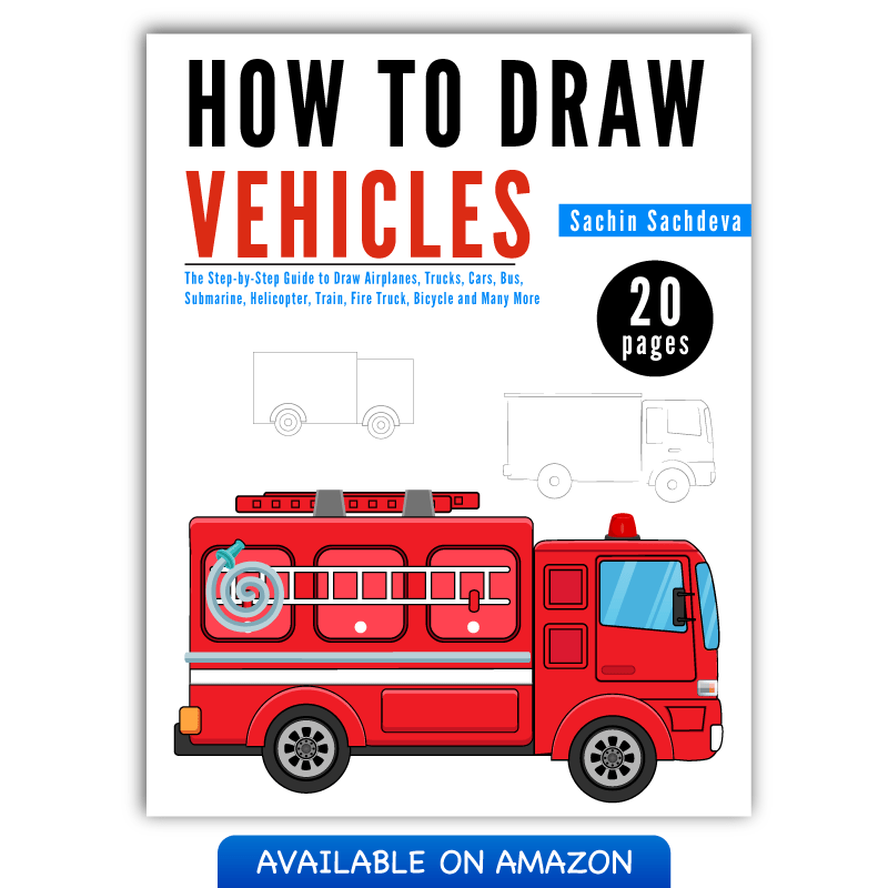 800x800 The Step By Step Guide To Draw Vehicles For Kids Inky Treasure