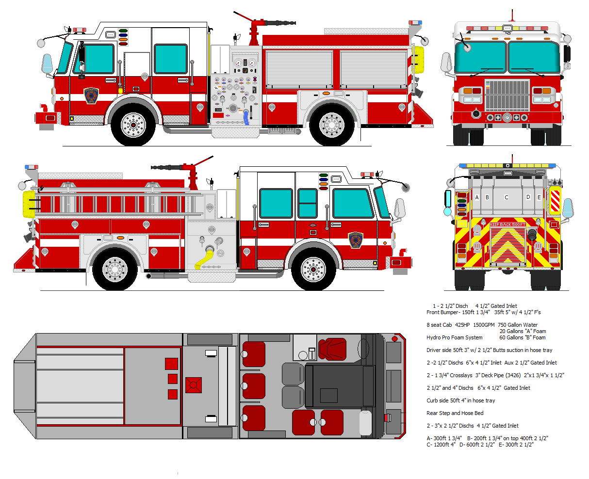 fire truck drawing pictures at getdrawings com free for personal rh getdrawings com Fire Engine Drawing Fire Engine Pump Panel Controls Parts