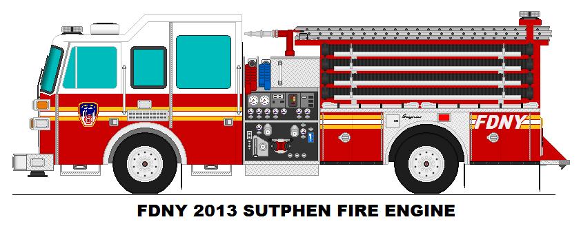 842x354 Fdny 2013 Sutphen Fire Engine By Geistcode