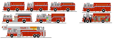 406x141 Ms Paint Fire Engines By Tractor Drawn Aerial