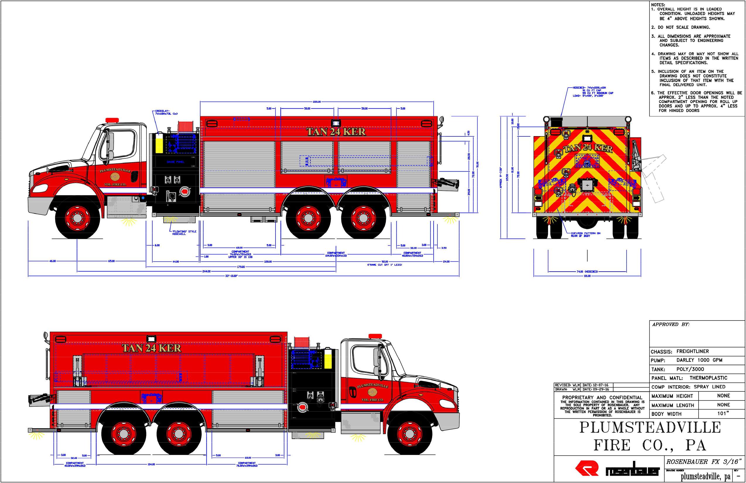 2548x1650 Plumsteadville Vol. Fire Co., Bucks County Horrocks Fire