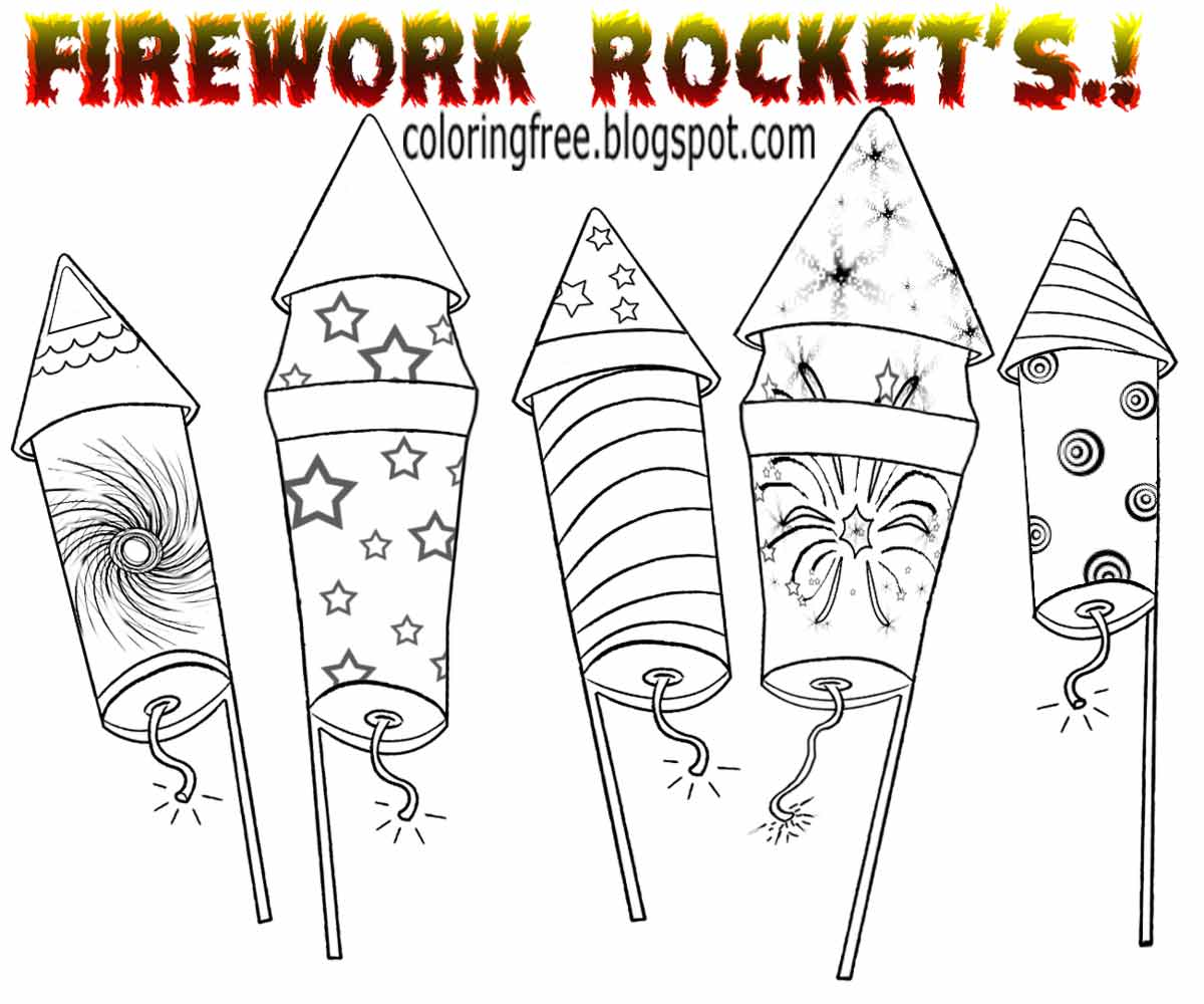 Firecracker Drawing at GetDrawings   Free download