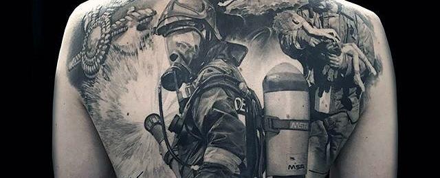 640x260 50 Firefighter Tattoos For Men