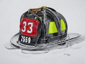 300x225 Firefighter Drawings