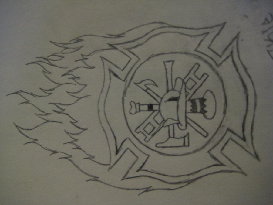 900x675 Firefighter Maltese Cross By Spooky Pookie Sue