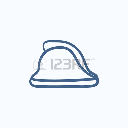 450x450 Fire Hydrant Vector Sketch Icon Isolated On Background. Hand