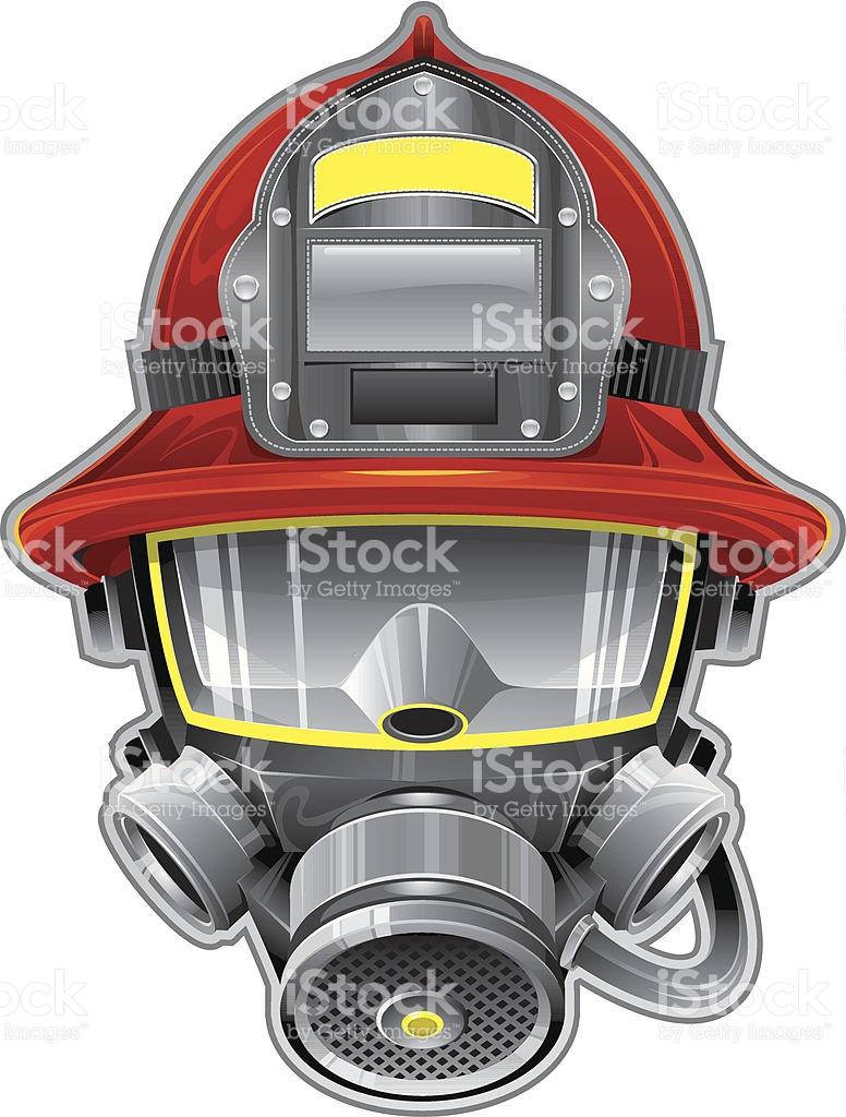 776x1024 Firefighter Clipart Mask