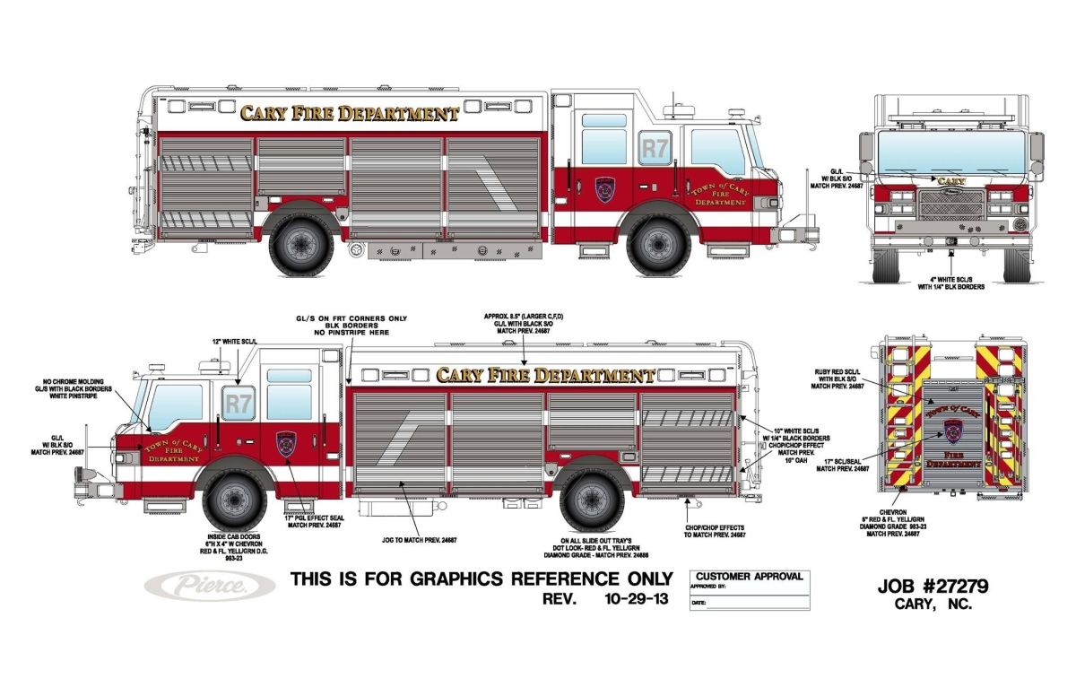 1200x776 Updated Drawing Of Cary's New Rescue And Engine