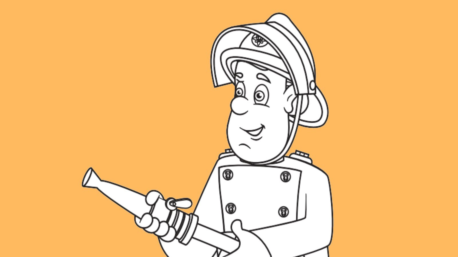 1600x900 How To Draw Fireman Sam From Fireman Sam Tv Show