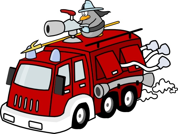 600x453 Fire Engine Clip Art Free Vector In Open Office Drawing Svg ( Svg
