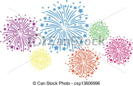 450x293 firework color colorful firework on black background eps vectors