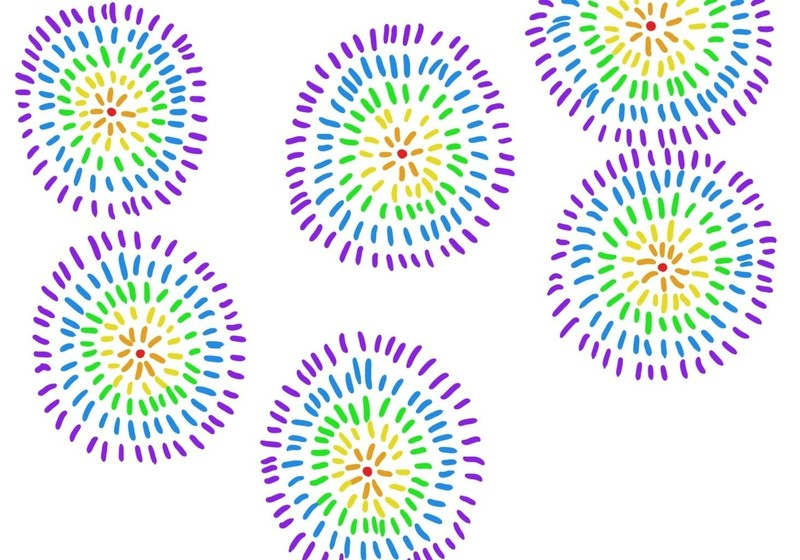 800x560 fireworks â· how to make a drawing â· art on cut out