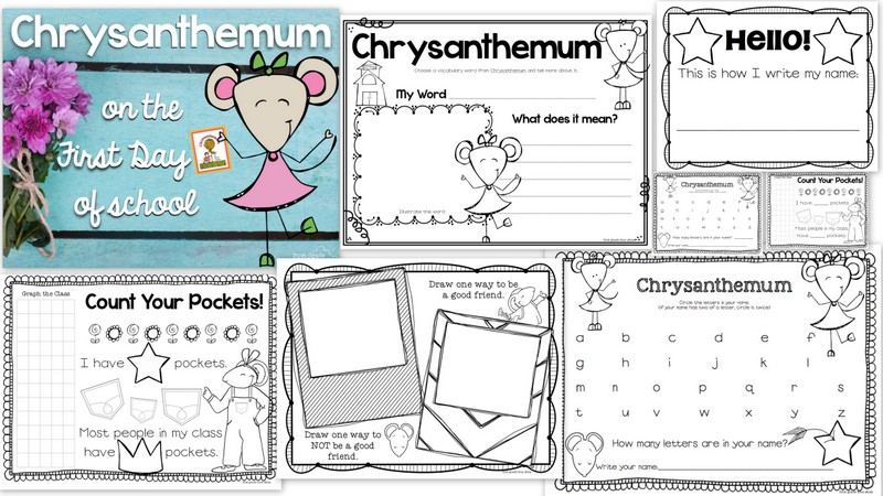 first day of school drawing at getdrawingscom  free for personal  x ideas for using chrysanthemum on the first day of school freebie