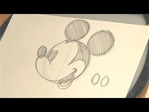 480x360 How To Draw Mickey Mouse Disney Animation Tutorial Babble