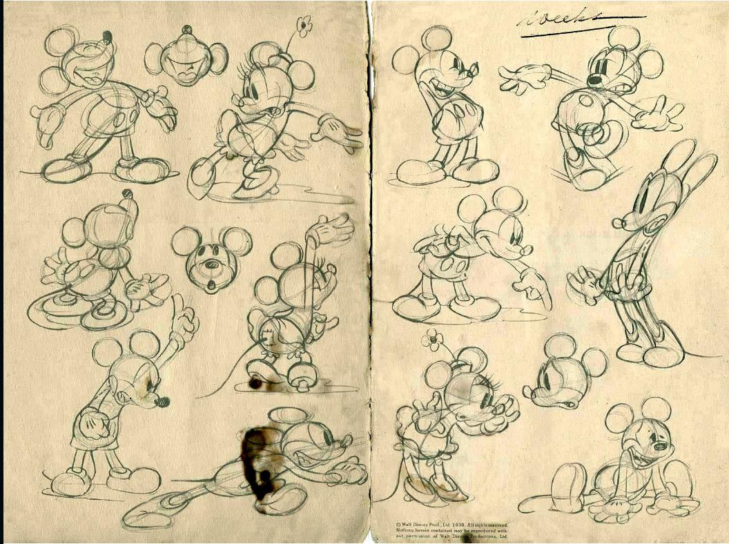 1056x788 Mickey Mouse Drawing Walt Disney Walt Disney Mickey Mouse Bd