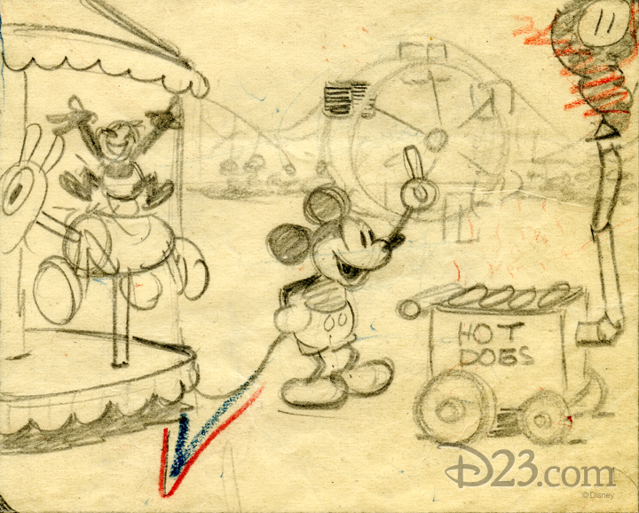 720x578 Why Mickey Mouse Does The Hot Dog Dance