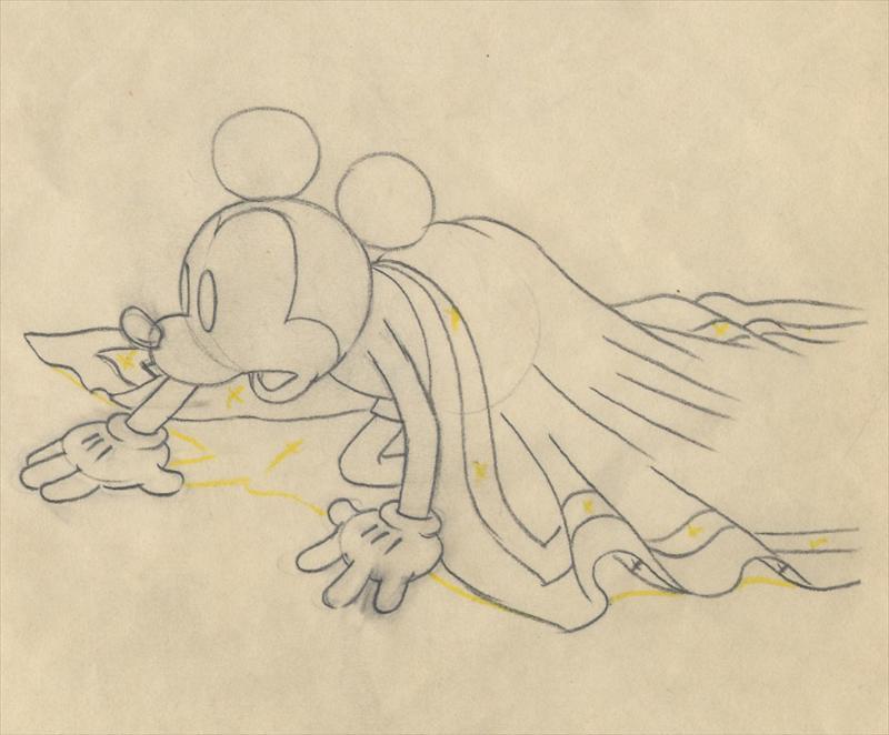 800x662 Disney Gulliver Mickey Les Clark Scene