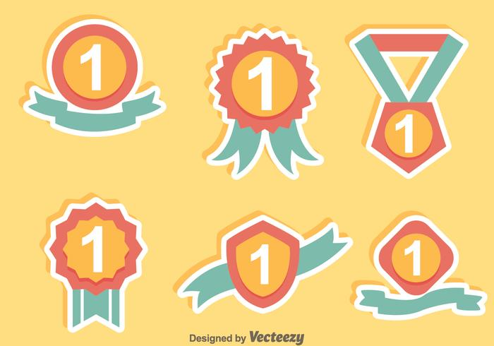 700x490 First Place Badge Hand Draw Icons