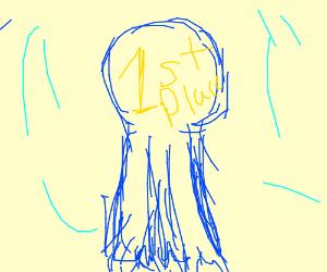 300x250 First Place Ribbon (Drawing By Gambitmonami)