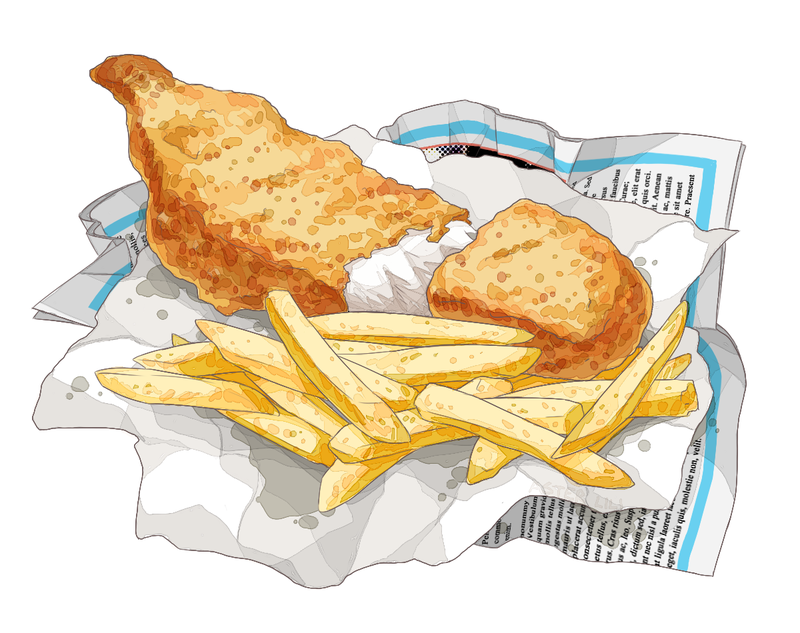 fish and chips drawing at getdrawings com free for personal use rh getdrawings com fish and chips cartoon movie fish and chips cartoon english