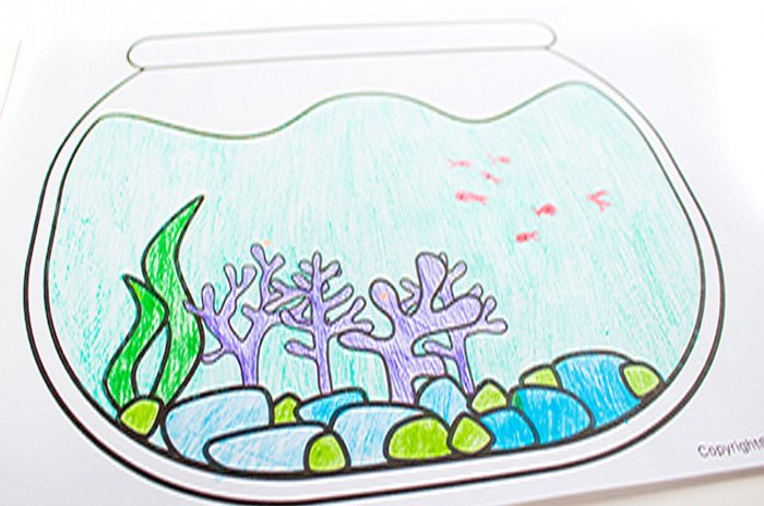 Fish bowl drawing at getdrawings free for personal use fish 700x464 free printable fishbowl drawing prompts maxwellsz