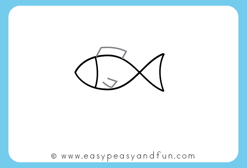 803x547 How To Draw A Fish Step By Step Tutorial For Kids + Printable