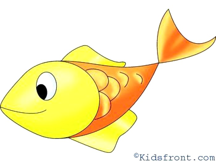 700x525 Simple Easy Fish Drawing Ideas for Kids