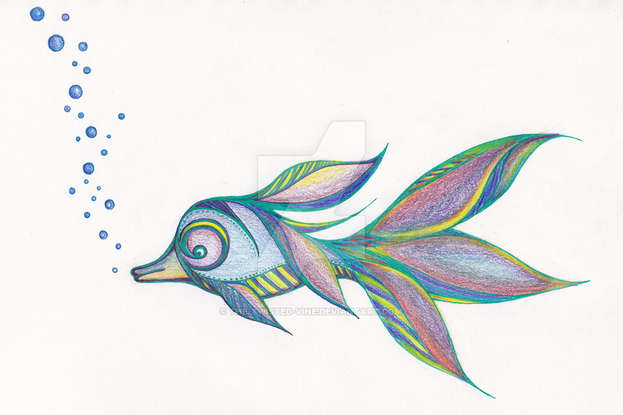 900x600 Accidental' Tropical Fish By The Twisted Vine