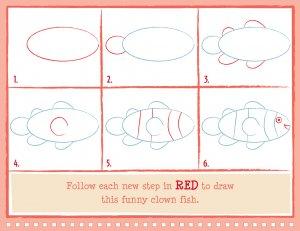 300x231 Clownfish Drawing
