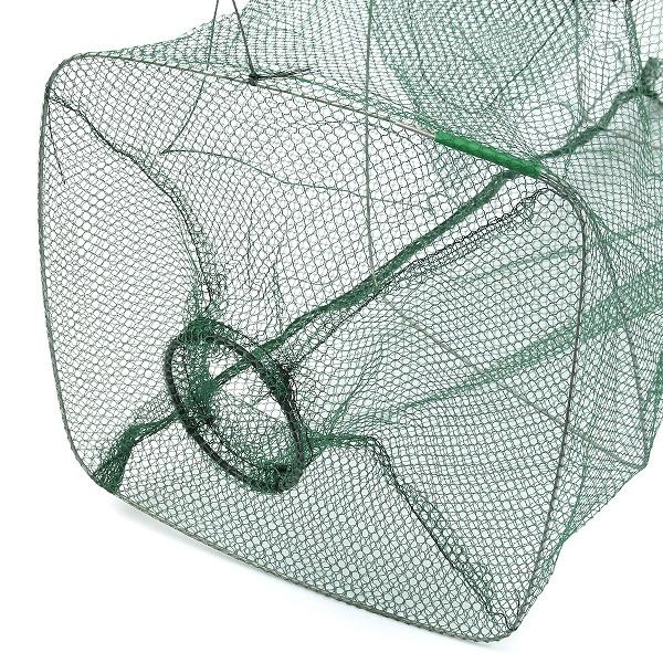 600x600 Foldable Fishing Bait Trap Cast Dip Net Cage Crab Fish Minnow