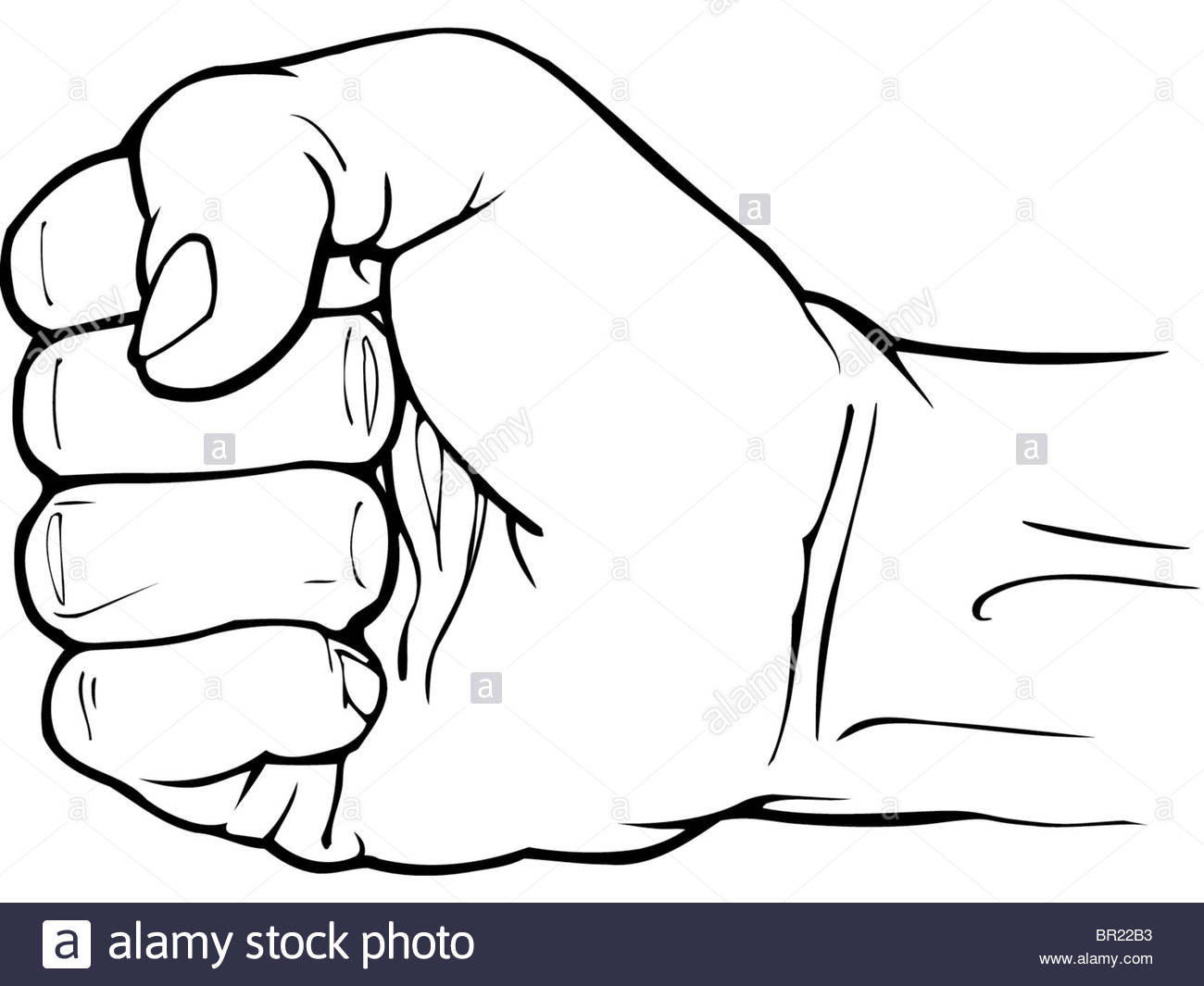 1300x1065 Drawing Of A Fist Fist Royalty Free Cliparts, Vectors, And Stock